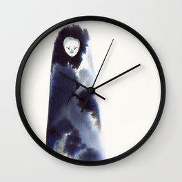 Mountain Watcher Wall Clock