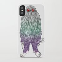 bigfoot iPhone & iPod Cases featuring BigFoot by Paz Art