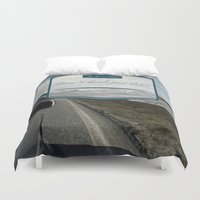 norway Duvet Covers featuring Roadtrip in norway by Laure.B