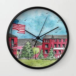 Lee & Union at Mississippi State University Wall Clock