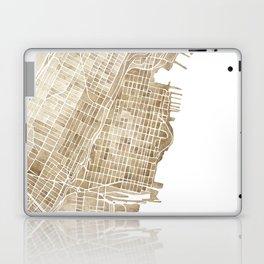 Hoboken New Jersey city map Laptop & iPad Skin