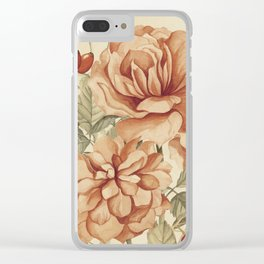 Vintage Touch 3 Clear iPhone Case