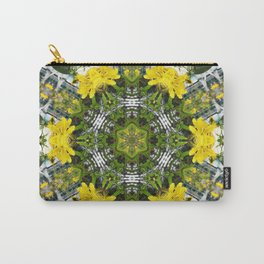 Kaleidoscope of showy St Johns Wort Carry-All Pouch