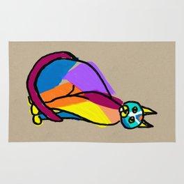 Colorful Cat Hero Rug