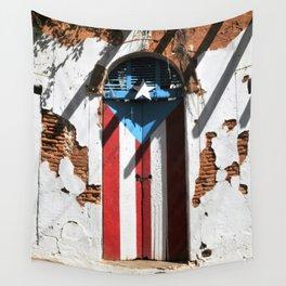 Puerto Rico Flag Wall Tapestry