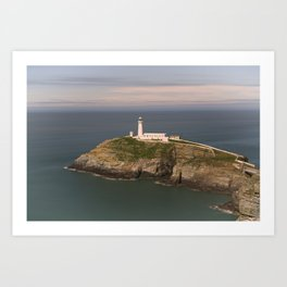 The South Stack Lighthouse Art Print