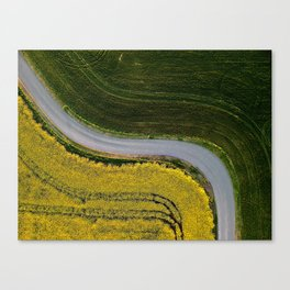 country road, take me home Canvas Print