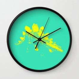 Vintage Toy Dinosaur  |  Stegosaurus Wall Clock