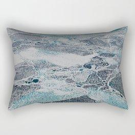 Bering Sea Ice Rectangular Pillow