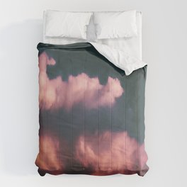 Pink Clouds Comforters