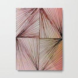 Triangle or Diamond Metal Print
