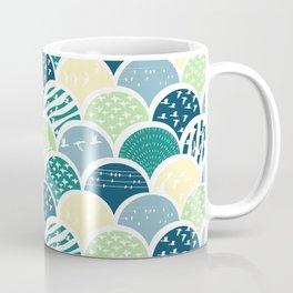 Fish Scale Birds Coffee Mug