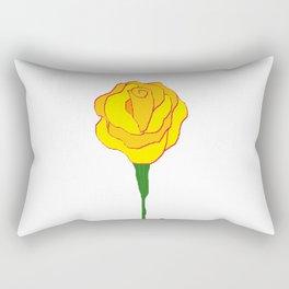 The Friendship Rose Rectangular Pillow