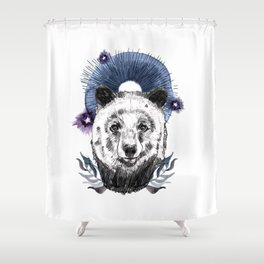 The Bear (Spirit Animal) Shower Curtain