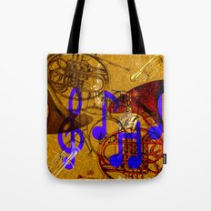 Notes of Sound Tote Bag