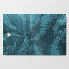 Ferns (light) abstract design Cutting Board