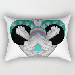 Hand bug Rectangular Pillow