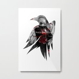 Raven's cloak Akatsuki-Yorha Metal Print