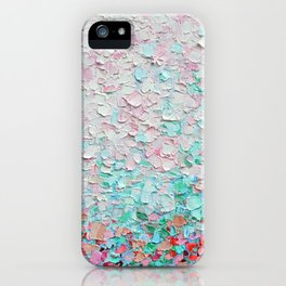 Weeping Cherry Field iPhone Case