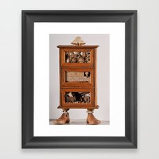 Tiny Toes  Framed Art Print