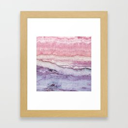 Mystic Stone Serenity Crossing Framed Art Print