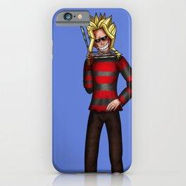 Freddy Krueger Toshinori Yagi iPhone Case