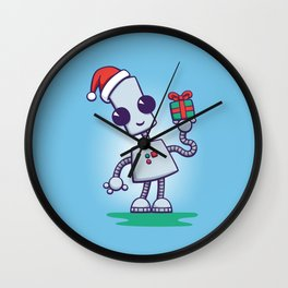 Ned's Christmas Wall Clock
