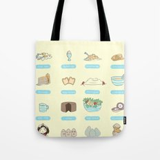 Some of the uses of eggs Tote Bag