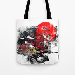Abstract Kyoto Tote Bag