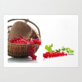 Fresh fruity Decorating Art Print