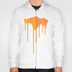 Orange Splatter Hoody