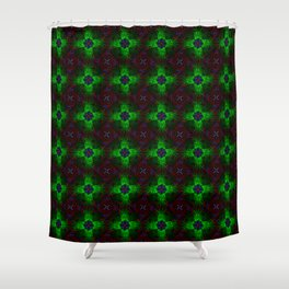 Infinite Insanity Shower Curtain