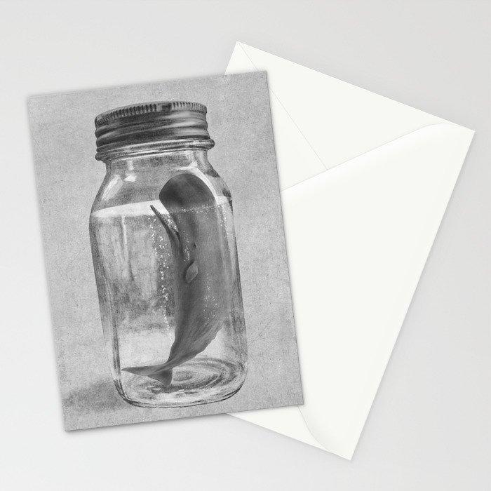 Extinction - mono Stationery Cards