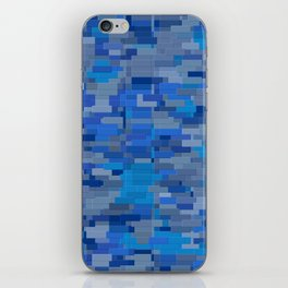 Blue City iPhone Skin