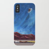 ufo iPhone & iPod Cases featuring UFO  by dreamshade