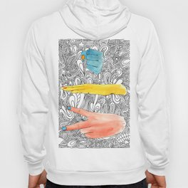 Rock, Paper, Scissors Hoody