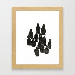 WALK NOW Framed Art Print