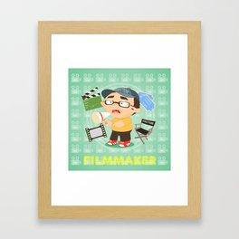 Filmmaker Framed Art Print