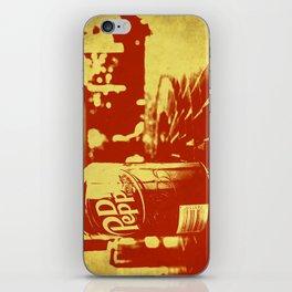 Pop Dr. Pepper iPhone Skin