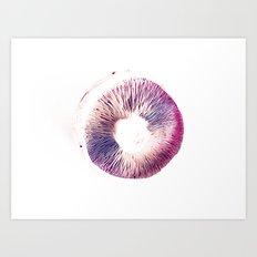 Mushroom Project Art Print