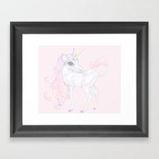 Unicorn ♡ Framed Art Print