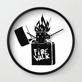 Firewalk Lighter Wall Clock