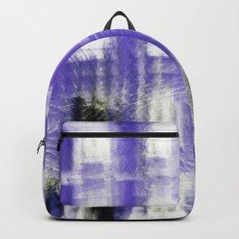 Purple building Backpack