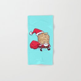 Santa Pancake Hand & Bath Towel