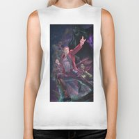 starlord Biker Tanks featuring Guardians Of The Galaxy by Arashi.C