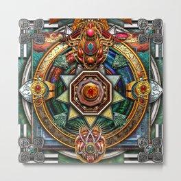 Extraordinary Celtic Mandala Metal Print