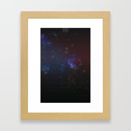 ASTEROID AIR Framed Art Print