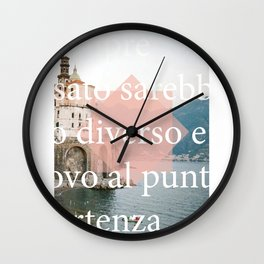 All over again Wall Clock
