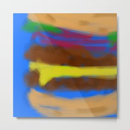 Double Bypass with Cheese Metal Print