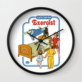 LET'S CALL THE EXORCIST Wall Clock